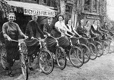 A century of women's cycling in photos.