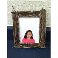 Elmers - Twig Photo Frame Create a natural photo frame using twigs and cardboard.