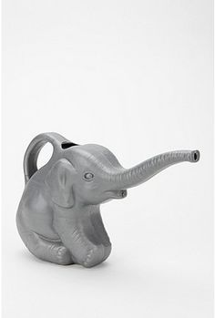 Adorable elephant watering can