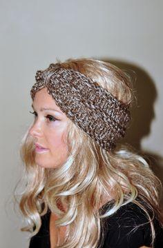 Headband Crochet Head