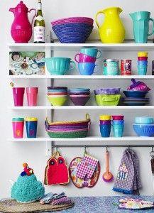Esquente a cozinha com muitas cores! | Blog de Decoração, Móveis e Estilo | LojasKD BLOG | Decoração é aqui.