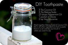 #Homemade #Toothpaste #Vegan #CrueltyFree #Veganism #Teeth #Natural