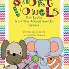 5 short vowel mini books     These fun, easy to make mini books will help your students work on their sight words, decoding skills, and short vowel s... kindergarten room, vowel work, kindergaten literaci, classroom help, mini books, student work