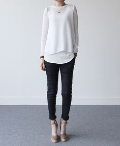 #black #white #fashion