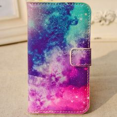 Cloudy Sky with Stars PU Case for Iphone4/4S - iPhone Cases - Cases Guess You Like It
