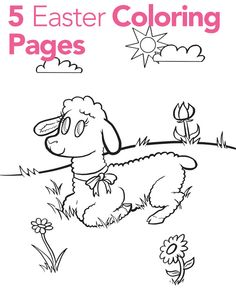 Easter Coloring Pages for Kids - Parenting.com