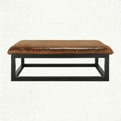 arhaus furnitur, man cave, famili room, cave decor, person digit, digit mall, ranch leather, living room furniture, leather ottoman