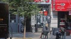 Robbie on 5th Ave and Degraw sells really cool Brooklyn T-shirts...tell him Poozy sent you..  :)