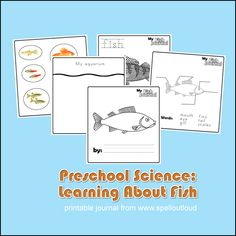 Preschool Fish Journal (free; from Spell Outloud)