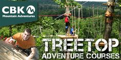 Have an adventure at the TreeTops Adventure Course at Camelback Mountain Adventures in the Pocono Mountains! #IAmAdventure #PoconoMtns #TreeTopsCourse