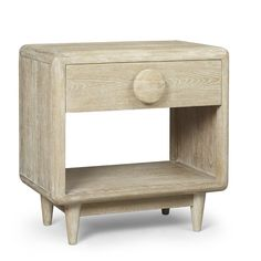 Yasmine 1 Drawer Nightstand