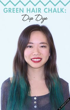 How To Hair Chalk Your Hair // #hair #style