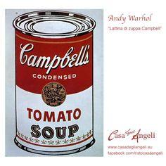 Alimentazione in arte on pinterest caravaggio andy for Barattoli di zuppa campbell s