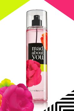 Fall madly in love with every spritz. #MadAboutYou #ScentSnap