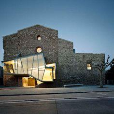 Dilapidated Sant Frances Church Reinvented by David Closes - Santpedor, Spain