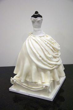 bridal shower dress cake by www.fortheloveofcake.ca, via Flickr