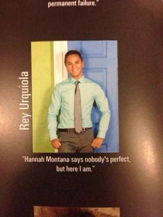 The Miley Quote:   The 38 Absolute Best Yearbook Quotes From The Class Of 2014