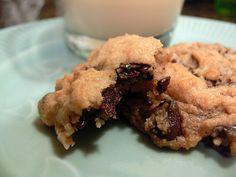 Vegan cookie christmas mason jar.