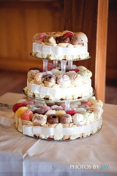 Gelato wedding cake