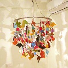 Origami Chandelier by Takayuki Senzaki