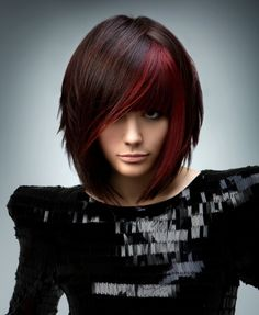 Short, red and dark