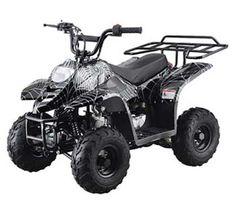 410BXR Youth Mini ATV   For the Spiderman fan who prefers wheels.  #ATV #UTV #4Wheeler #offroad