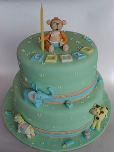 birthday cakes for 1 year old | Birthday cake for a one year old | Flickr - Photo Sharing!