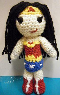 Amigurumi Wonder Woman : crochet princesses on Pinterest Amigurumi, Crochet Dolls ...