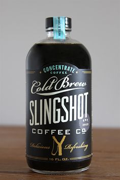 Dapper Paper, The Blog.: BRANDED: SLINGSHOT COFFEE CO.