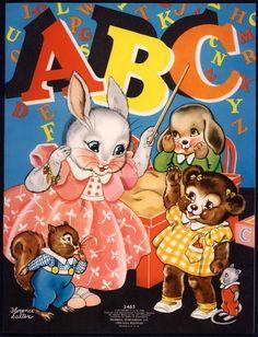 """ABC"" Merrill 1939, illus. Florence Salter | eBay"