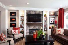 small-built-in-shelves living room
