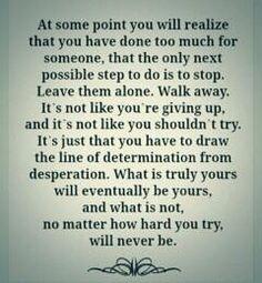 It's hard....
