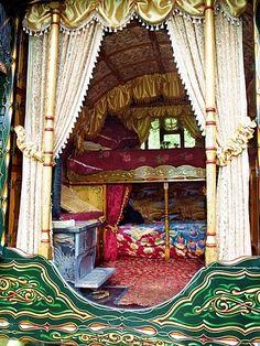 Gypsy caravan glamour