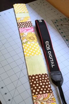 camera strap pattern