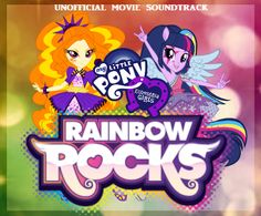 MY LITTLE PONY: Equestria Girls 2: Rainbow Rocks {{Album Cover #1}} by JaymeBear.deviantart.com on @DeviantART