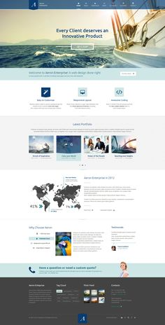 This design has a great feeling created with the color and image choices.  | #webdesign #it #web #design #layout #userinterface #website #webdesign < repinned by www.BlickeDeeler.de | Take a look at www.WebsiteDesign-Hamburg.de