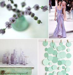 aqua lavender color palette - Google Search