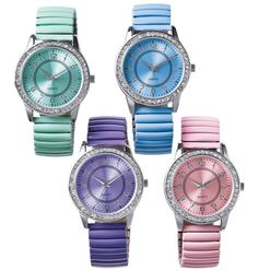 Brighten up your wrist with our Pretty Pastel Watches!