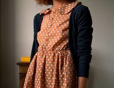 awesom cloth, confetti garden, dot dress, polka dots, style, peter pan collars, dresses, captiv collar, fashion inspir