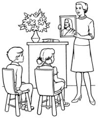 Christian Coloring Pages and Activities