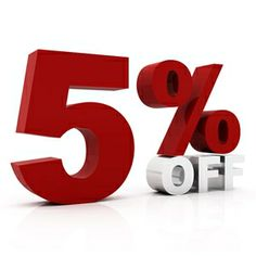 5% Off your order for being a Pinterest follower!! Just use the code: Pinterest when you check out. Case sensative.