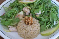 Apple, arugula, & chicken salad - Recipe by Dr. Natasha Turner