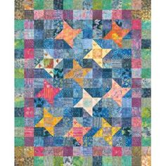 Floating Lilies Quilt Pattern - for purchase