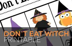Super fun Halloween game! Free printable!