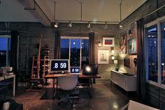 Loving the workspace of Austin artist/illustrator/designer Shyama Golden.