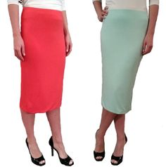 Jersey Double Layer Skirt - $32.00 :: DCM Apparel - Modern Modest Clothing