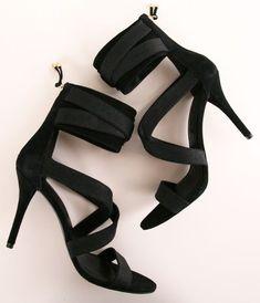 Criss-Cross Heels.