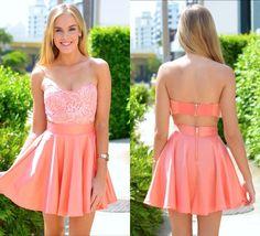 Just Peachy Dress  #mura #fashion #dress
