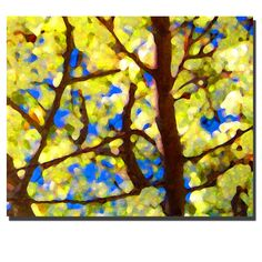 Trademark Global Spring Tree by Amy Vangsgard, Canvas Art - 26