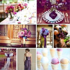 Purple Wedding Inspiration Wedding